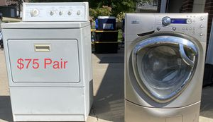 GE Profile washer and Kenmore Electric Dryer for Sale in Sioux Falls, SD
