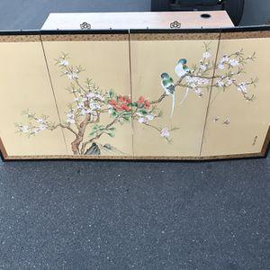 Oriental Screen for Sale in Modesto, CA
