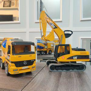Large Size Bruder Excavator & Cement Mixer Trucks for Sale in Auburn, WA