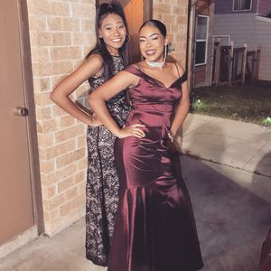 Maroon Mermaid Tail Homecoming/ Prom Dress for Sale in Copperas Cove, TX