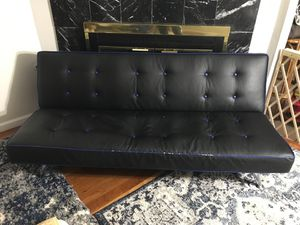 Leather futon for Sale in Buffalo Grove, IL