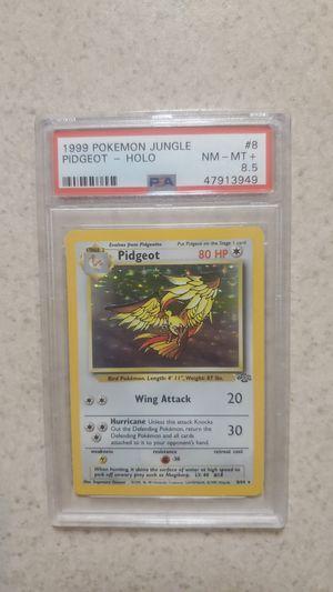 Pidgeot pokemon 1999 jungle 8.5 psa graded for Sale in Henderson, NV