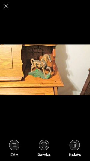 Vintage Galloping Horse on Base Nice for Sale in Lynchburg, VA
