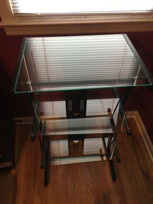 3 Glass Shelf Unit for Sale in Woodland Park, NJ