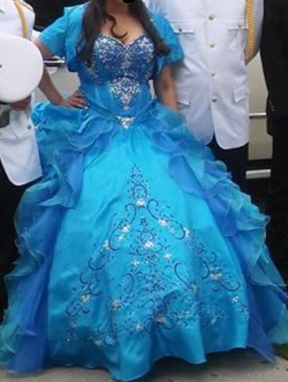 Beautiful sweet 16 or quinceanera dress