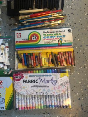 Art Supplies for Kids/Beginners/Whoever for Sale in Escondido, CA
