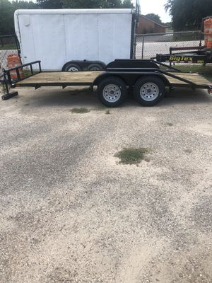 16 foot tandem axle trailer for Sale in Cypress, TX