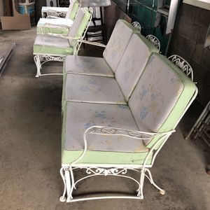 5 Piece Wrought Iron Glider Set for Sale in Monaca, PA