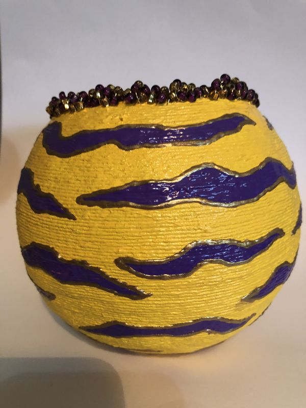 Basket are to decorate house