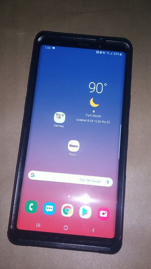AT&T Galaxy Note 9 for Sale in Benbrook, TX