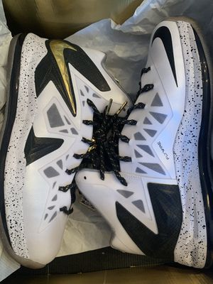 Nike Lebron ps elite size 11.5 worn 1 time with box for Sale in Miami, FL