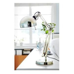 Ikea Forsa Silver Nickel Adjustable Desk Lamp for Sale in San Diego, CA