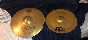 Crash and China cymbal for Sale in Midland, TX