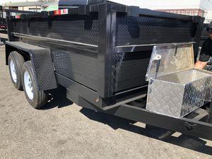 8x10x2 DUMP TRAILER for Sale in La Crescenta-Montrose, CA