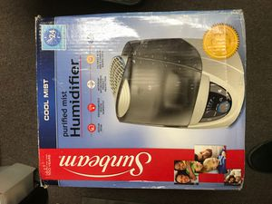 New sunbeam purified humidifier cool mist for Sale in Walnut, CA