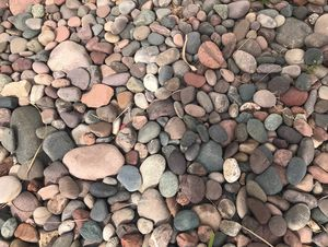 Free very clean grade A river rock in Tempe for Sale in Tempe, AZ