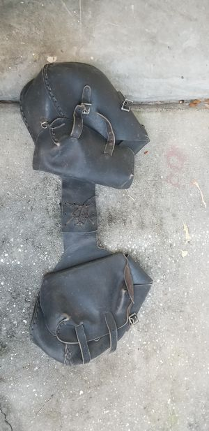 Harley Davidson bags leather for Sale in Orlando, FL