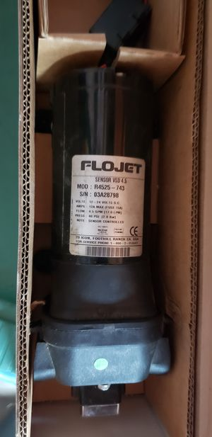 Flojet water pump for RV travel trailer 4.8 gpm for Sale in San Bernardino, CA