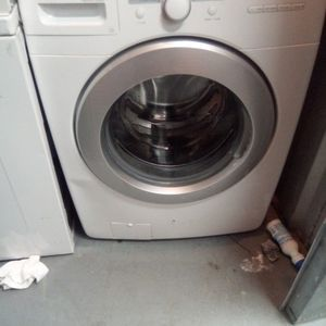 Whirlpool Duet Stainless Steel Heavy Duty Large-capacity Washer Works Good 30 Day Warranty {contact info removed} for Sale in Fort Washington, MD
