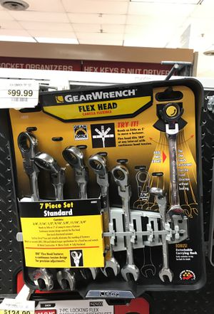 Gear wrench 7 pc for Sale in Houston, TX