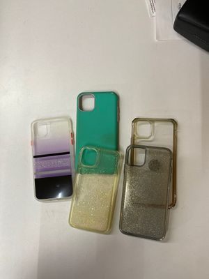 Lot of 5 cases for iPhone 11 pro max for Sale in El Paso, TX