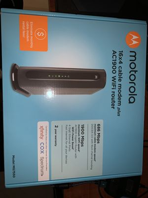 Motorola Cable Modem Router for Sale in Hollywood, FL