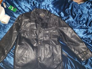 RGA XL leather jacket.. for Sale in Terre Haute, IN