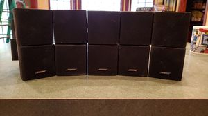 Bose cube surround sound speakers 5 total for Sale in Paradise Valley, PA
