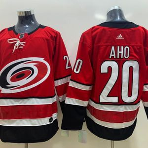 Sebastian Aho #20 Carolina Hurricanes hockey jersey men's large for Sale in Raleigh, NC