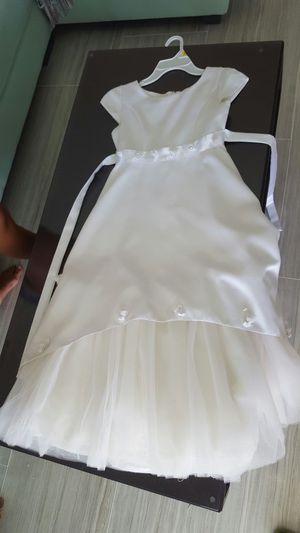 Girls dress for communion, flower girl, party for Sale in Cooper City, FL