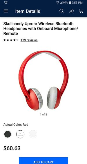 Skullcandy uproar bluetooth headphones for Sale in Richmond, KY