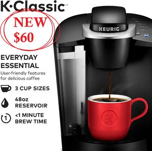 BRAND NEW Keurig K-Classic K55 Coffee maker coffeemaker- BOX NEVER OPENED - Great CHRISTMAS GIFT for Sale in Ventura, CA