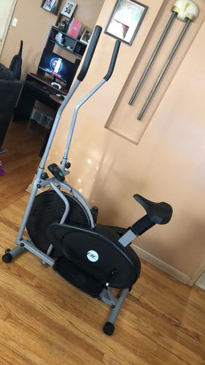 BCP 2-in-1 elliptical trainer and exercise fitness machine for Sale in Parma, OH
