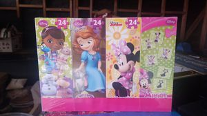 Disney puzzles and match game for Sale in Hesperia, CA