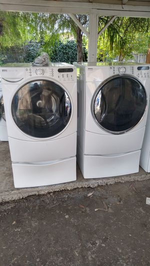 Kenmore He Washer & Gas Dryer Free Delivery for Sale in San Bernardino, CA