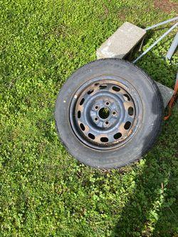 Firestone tire with rim for Sale in Redmond,  WA