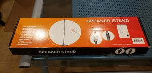 Speaker Stand (1) Adjustable To Most Surround Sound Systems Max 43.3 for Sale in Goodyear, AZ