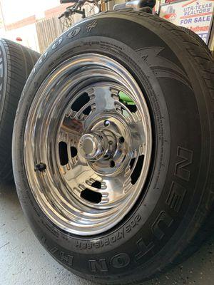 Chrome steel rims for Sale in BROOKSIDE VL, TX