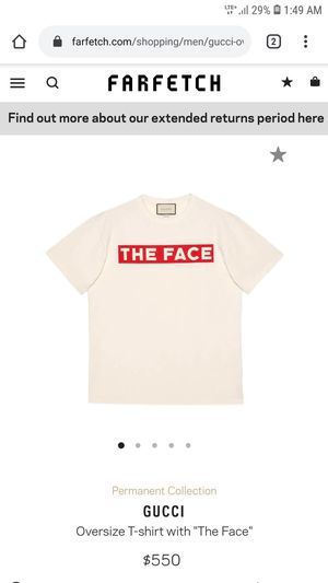 """Brand New Gucci/""""Off-White"""" Collab T-Shirt for Sale in Los Angeles, CA"""