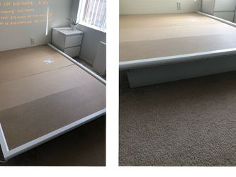 Full Size White Bed Frame for Sale in San Diego,  CA