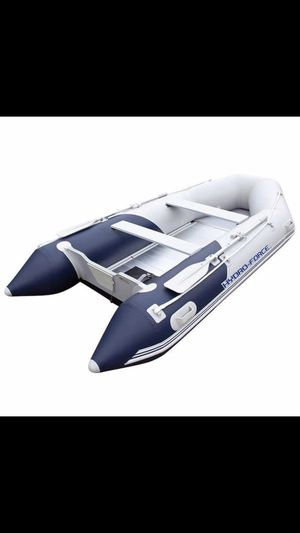 Brand new in box rigid aluminum floor inflatable boat for Sale in Irvine, CA