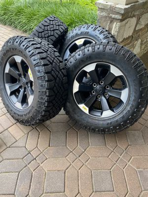 "2019 Ram Rebel 18"" rims (4) RIMS ONLY!! for Sale in Morrisville, PA"