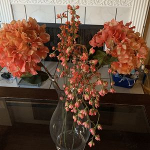 Tall Vase And Flowers for Sale in Lake Forest, CA