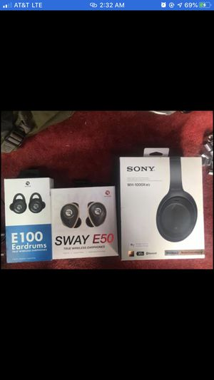 Raycon & Sony Boxes Only for Sale in Wichita, KS