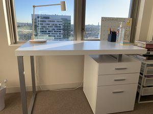 Large White Desk for Sale in Boston, MA