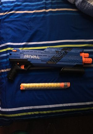 Nerf rival gun for Sale in OCEAN BRZ PK, FL