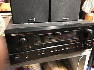 Denon receiver home surround sound for Sale in Whittier, CA