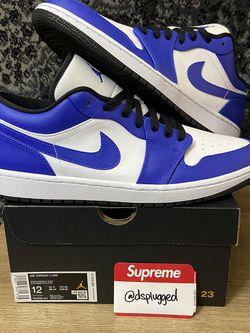 Nike Air Jordan 1 Low Game Royal Toe — Size 12 for Sale in Sacramento,  CA