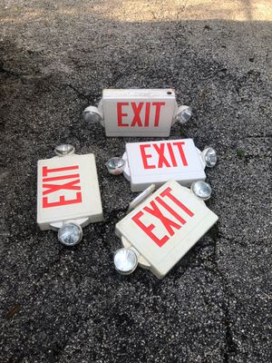 EXIT LIGHTS for Sale in Lake Worth, FL