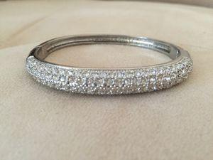 Tound CZ and Silver Bracelet for Sale in Atlanta, GA